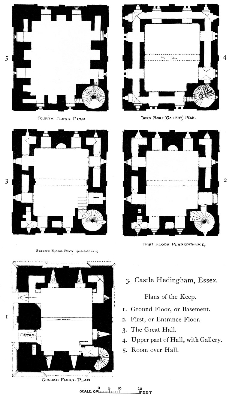 File Hedingham Castle   plans from The Growth of the English House by J  Alfred Gotch on mexican house drawing