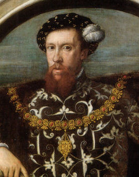 Henry Howard Earl of Surrey at age 29, 1546