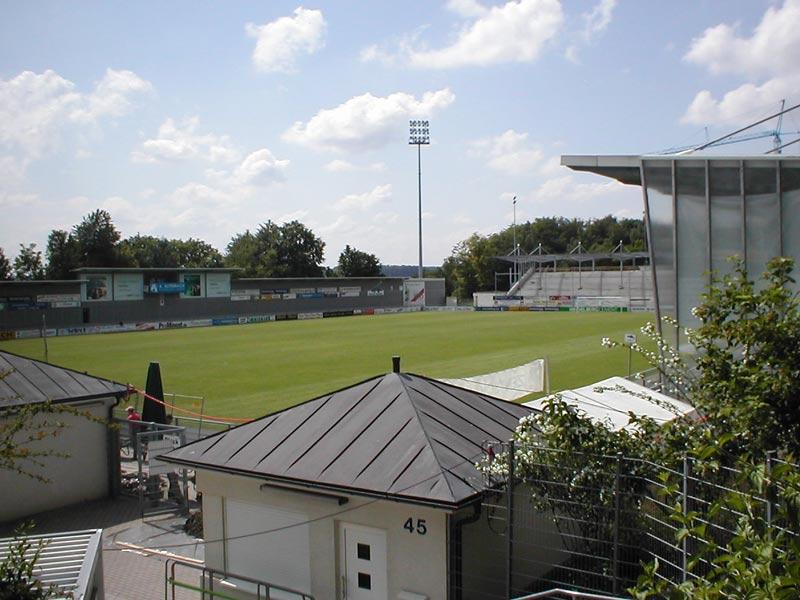 Das Dietmar-Hopp-Stadion in Hoffenheim