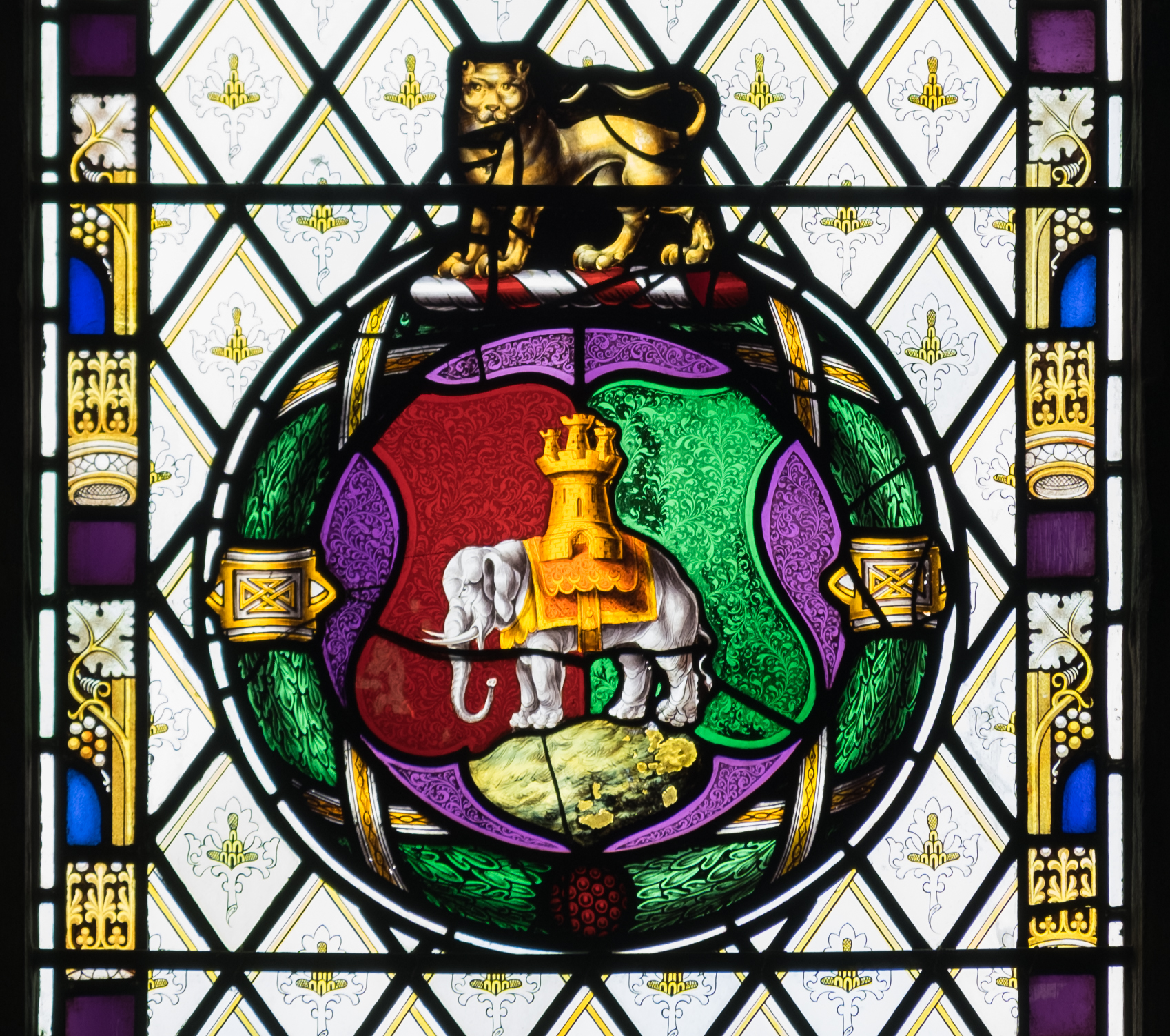 Fileholy Trinity Church Coventry Coventry Symbols Detail In
