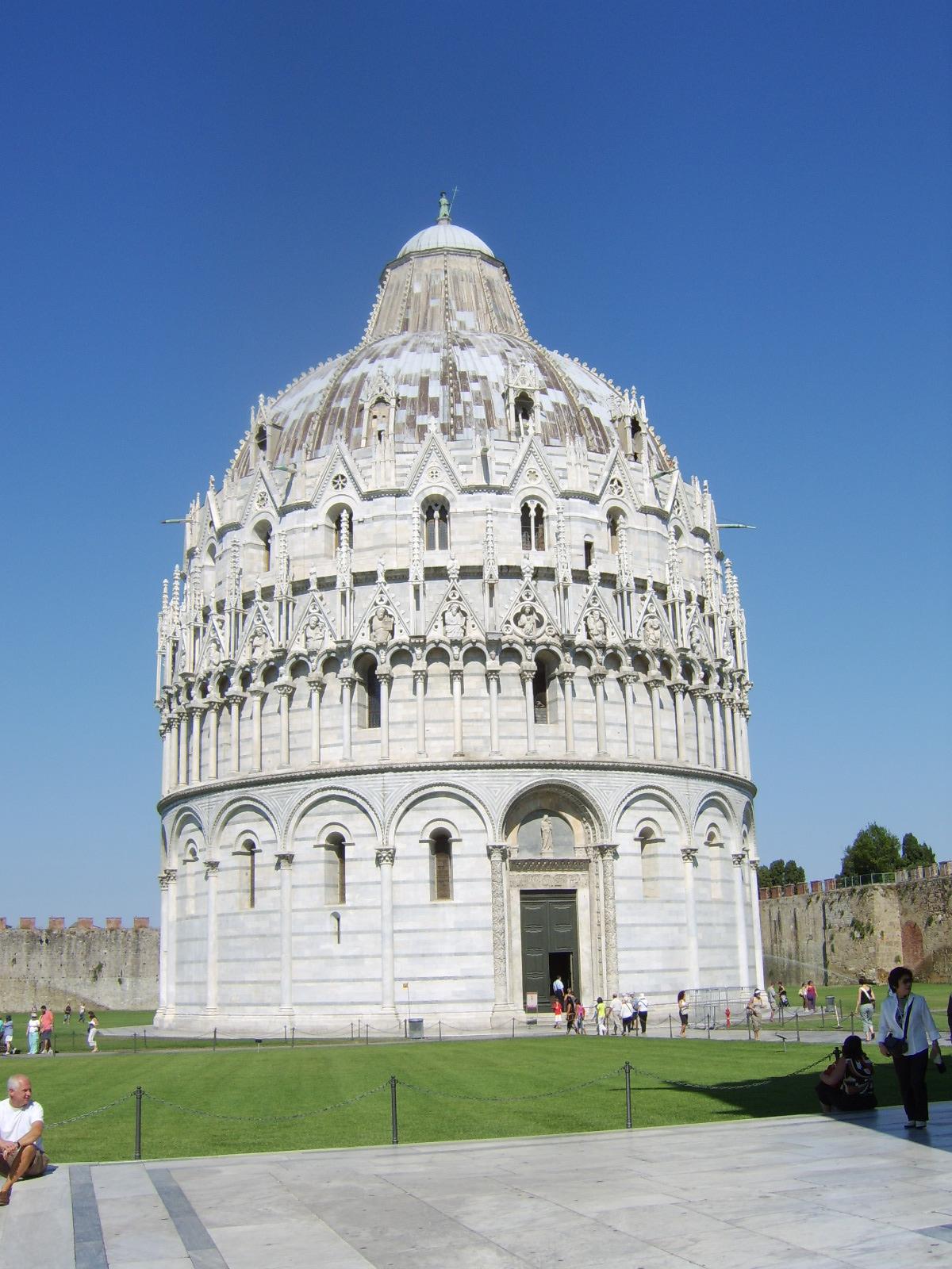 Battistero di Pisa - Wikimedia Commons