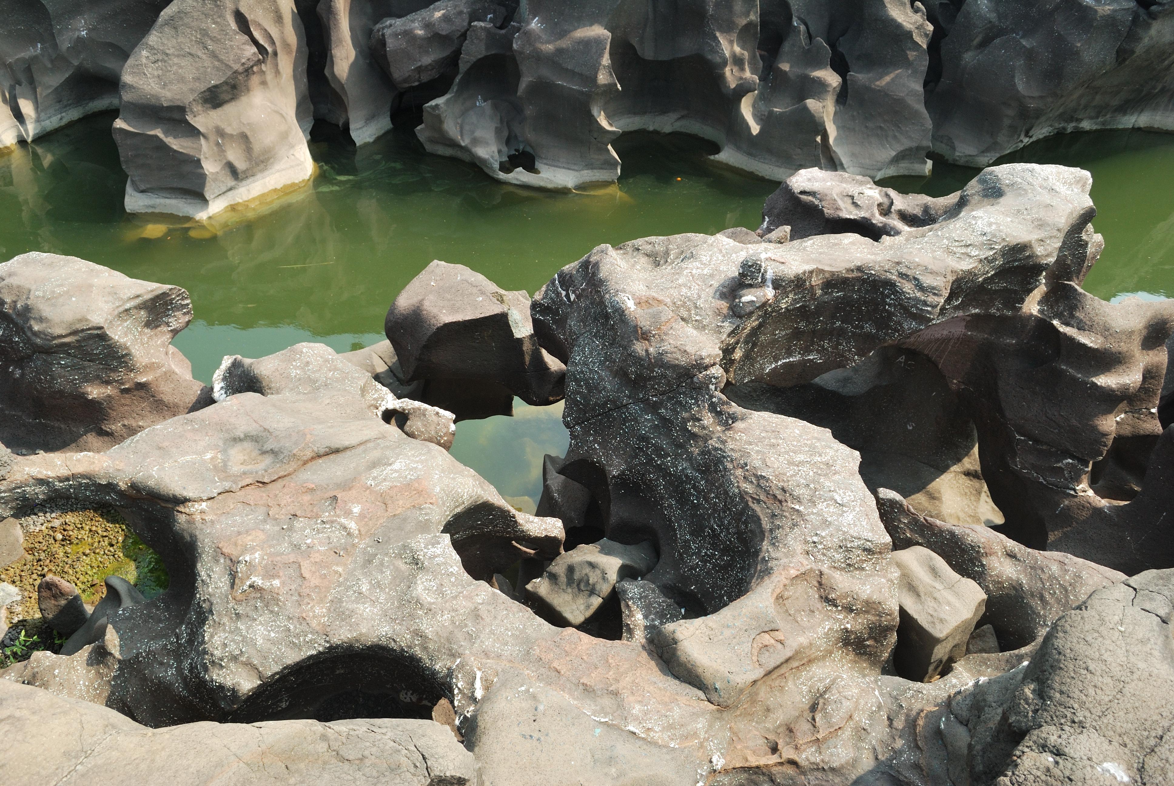 Image result for Nighoj Potholes, Maharashtra