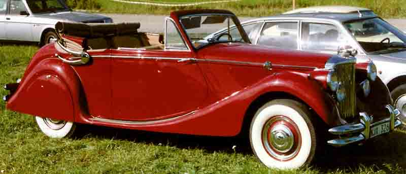 ملف:Jaguar Mark V Drophead Coupe 1950.jpg