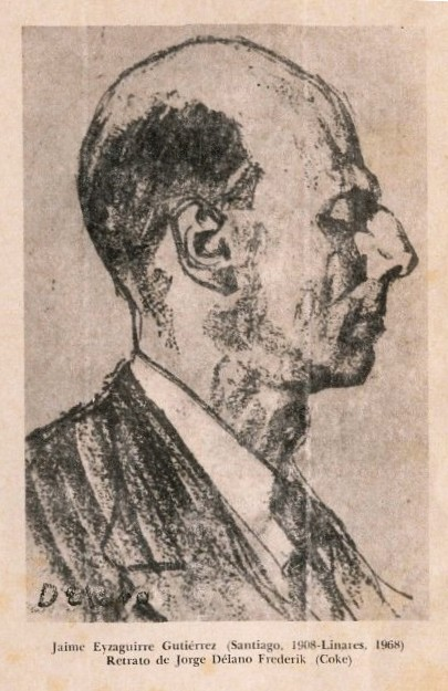 Portrait of Eyzaguirre by Jorge Delano Frederik.