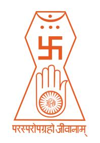 The Jain symbol that was agreed upon by all Jain sects in 1974.