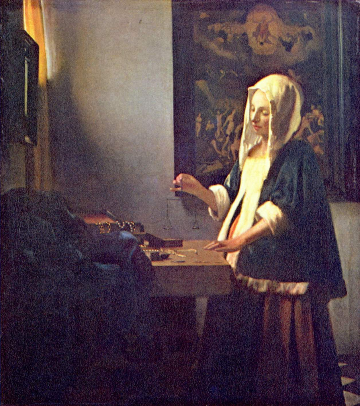 The Art Of Painting Vermeer Description