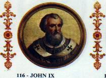 Pope John IX pope