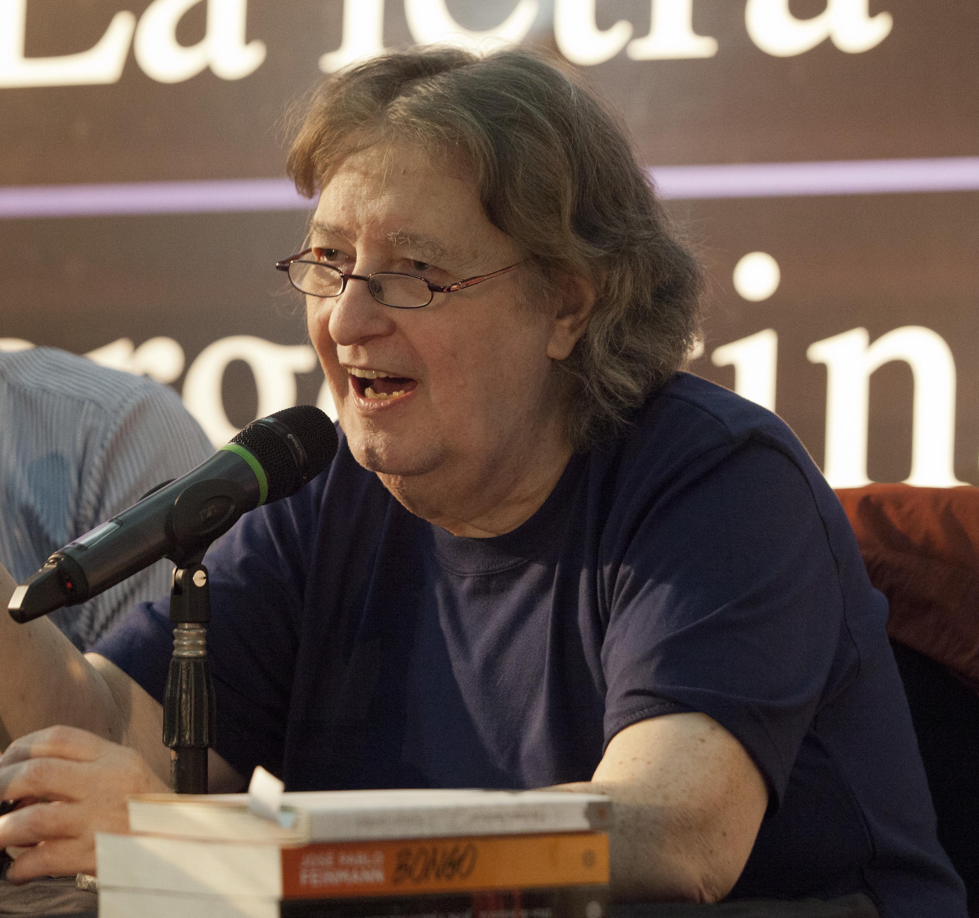 José Pablo Feinmann in 2014