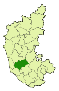 Location in Karnataka