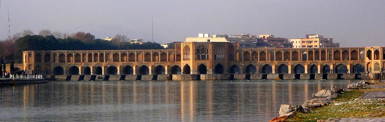 Arhitektura koja spaja ljude - Mostovi Khaju_Bridge