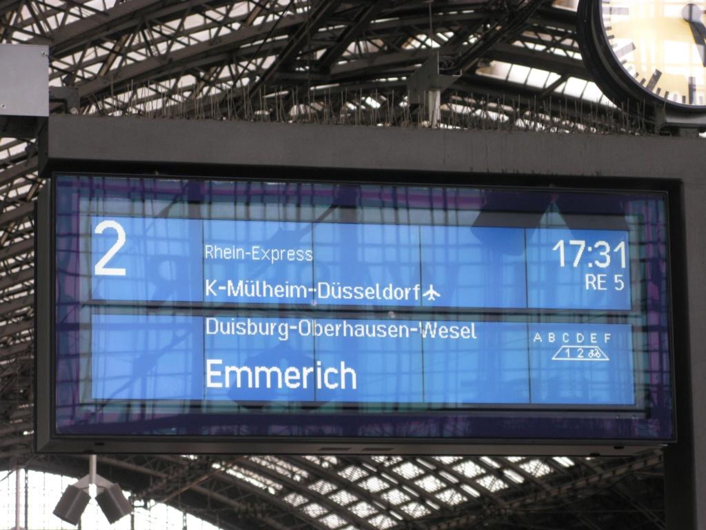 Köln hauptbahnhof gleise