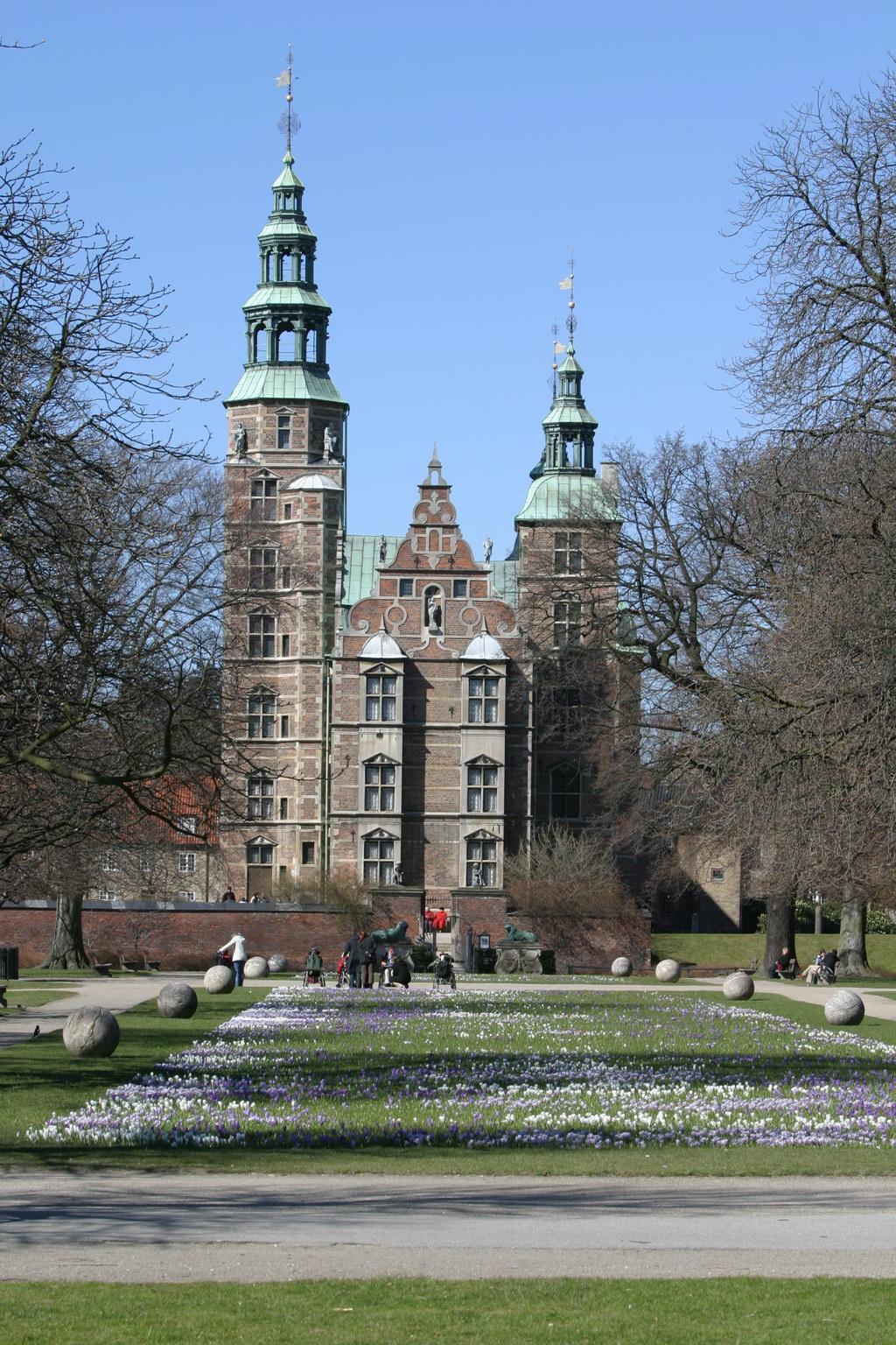 castelul rosenborg copenhaga