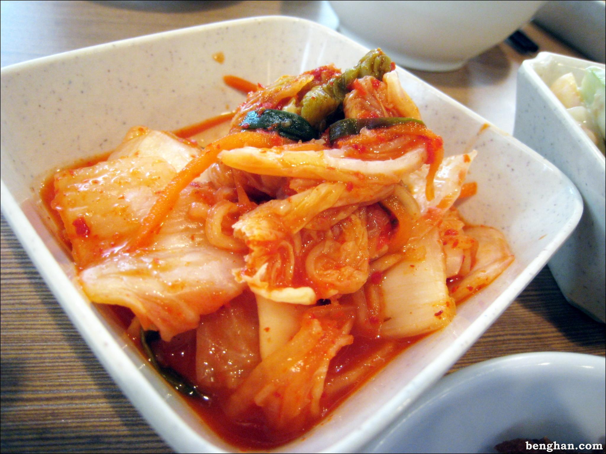 kimchi description