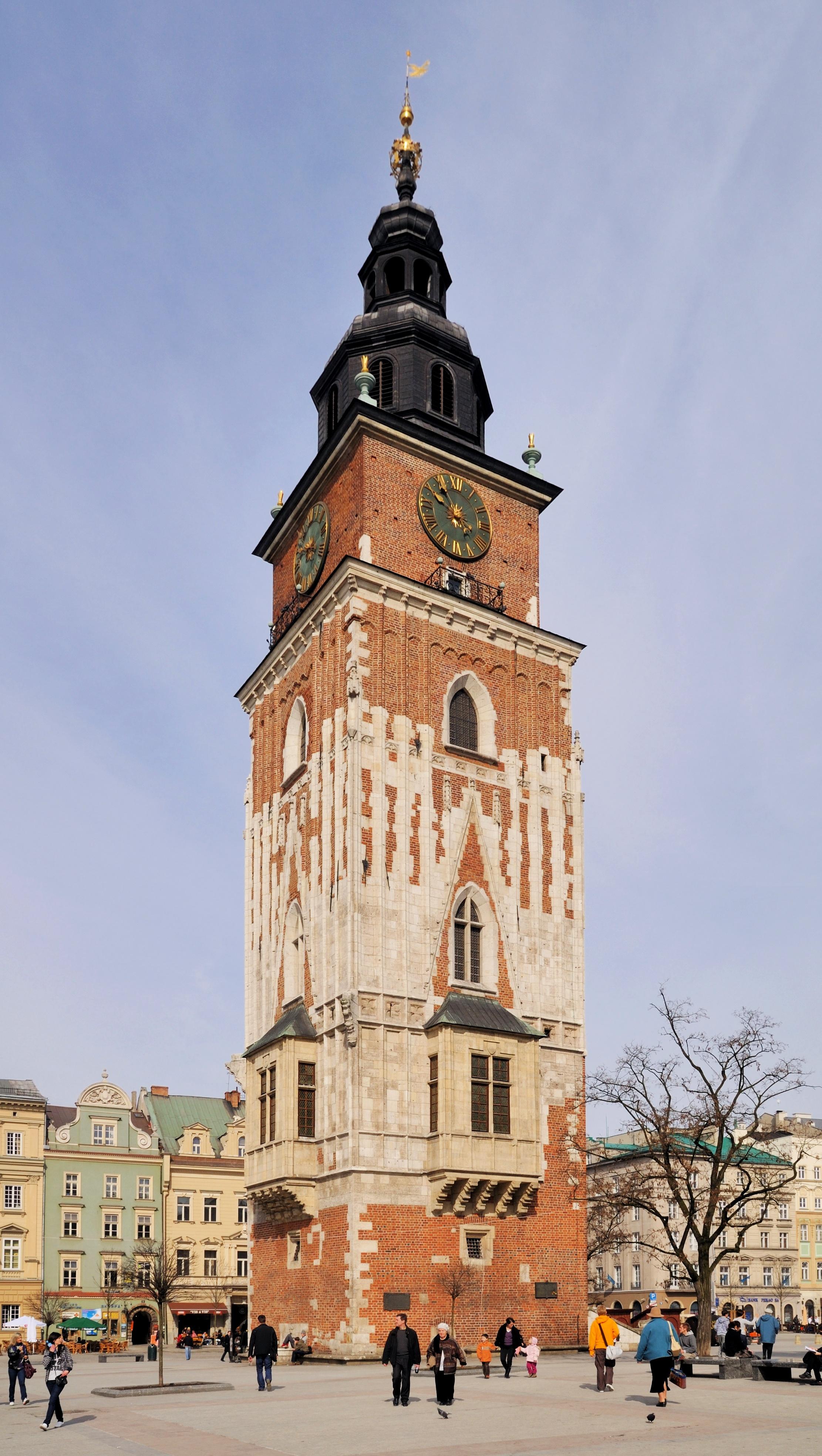 Afbeeldingsresultaat voor krakau raadhuistoren
