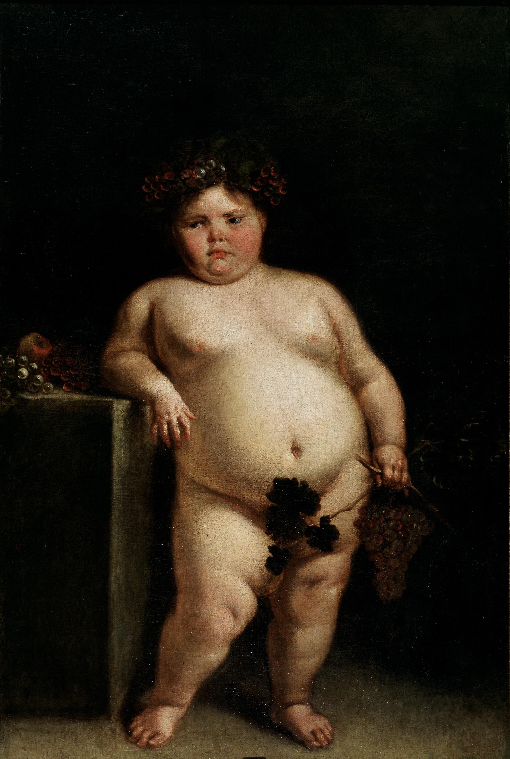 La monstrua desnuda (1680), de Juan Carreño de Miranda..jpg