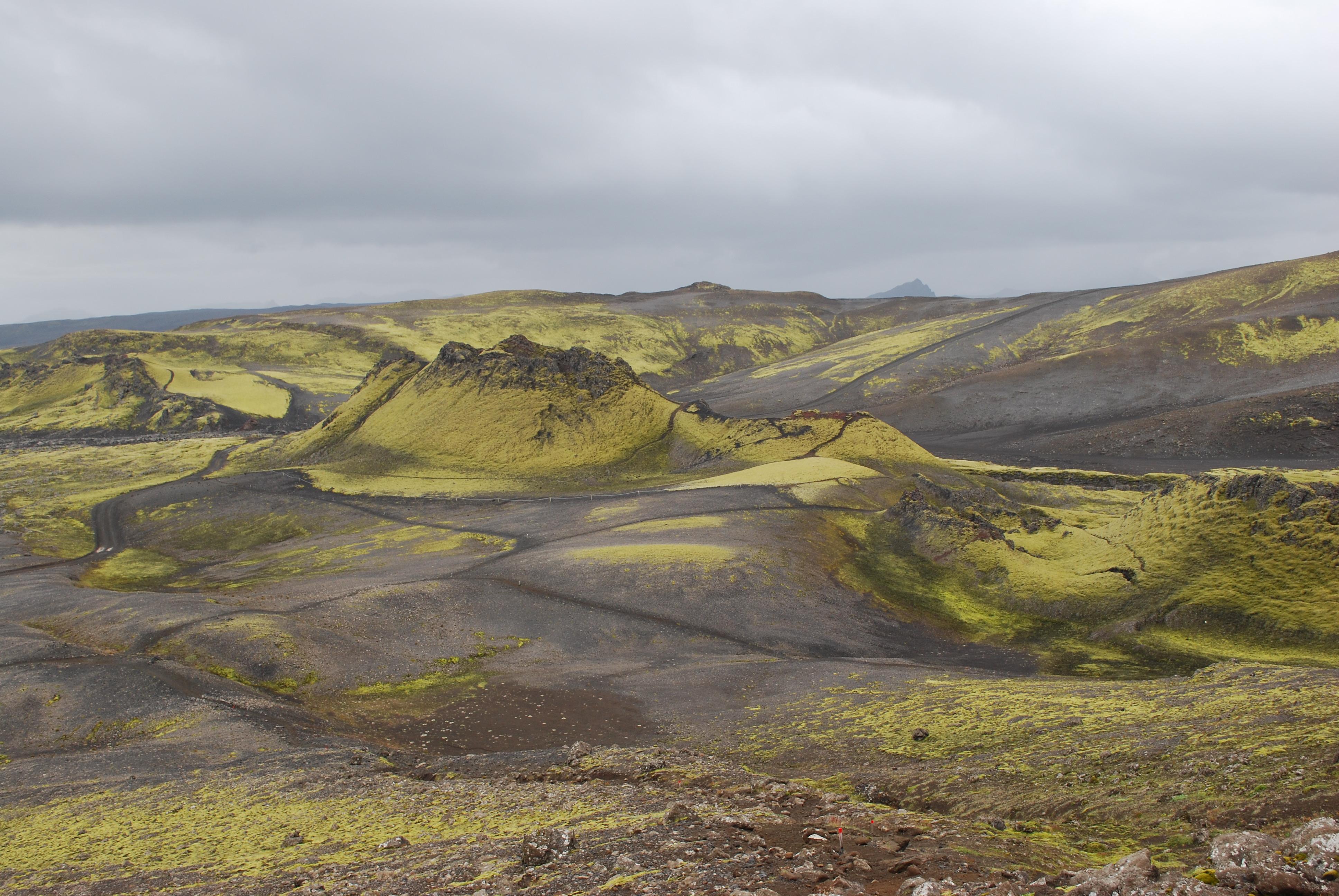 Laki Iceland 1783 Volcano