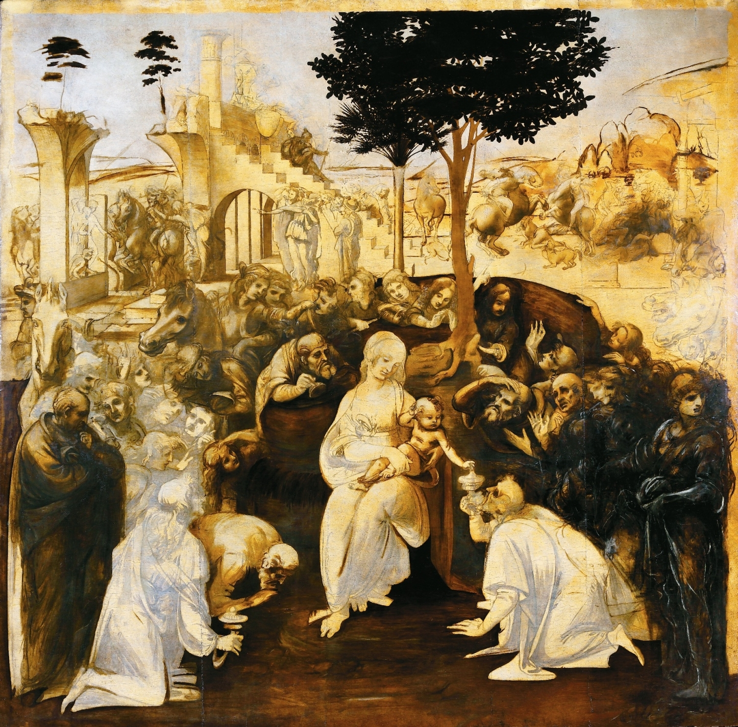 Adorazione dei Magi (Leonardo) - Wikipedia