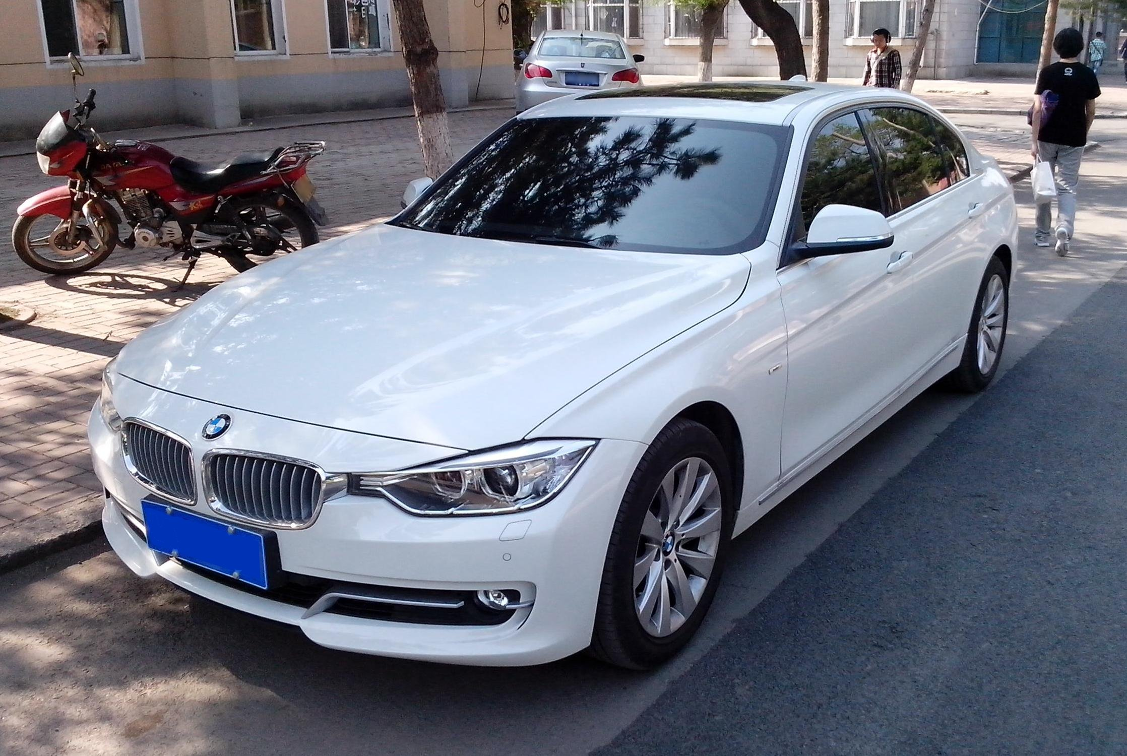 File Long Wheelbase Bmw 3 Series F35 Front Quarter Jpg