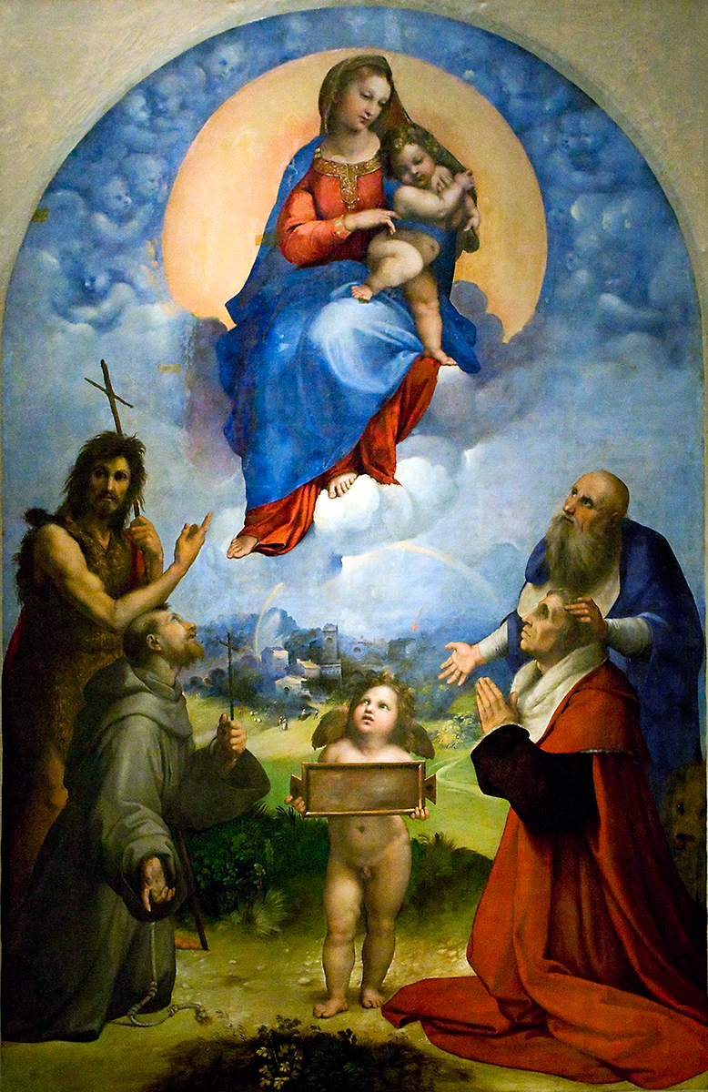 La Vierge de Foligno — Wikipédia