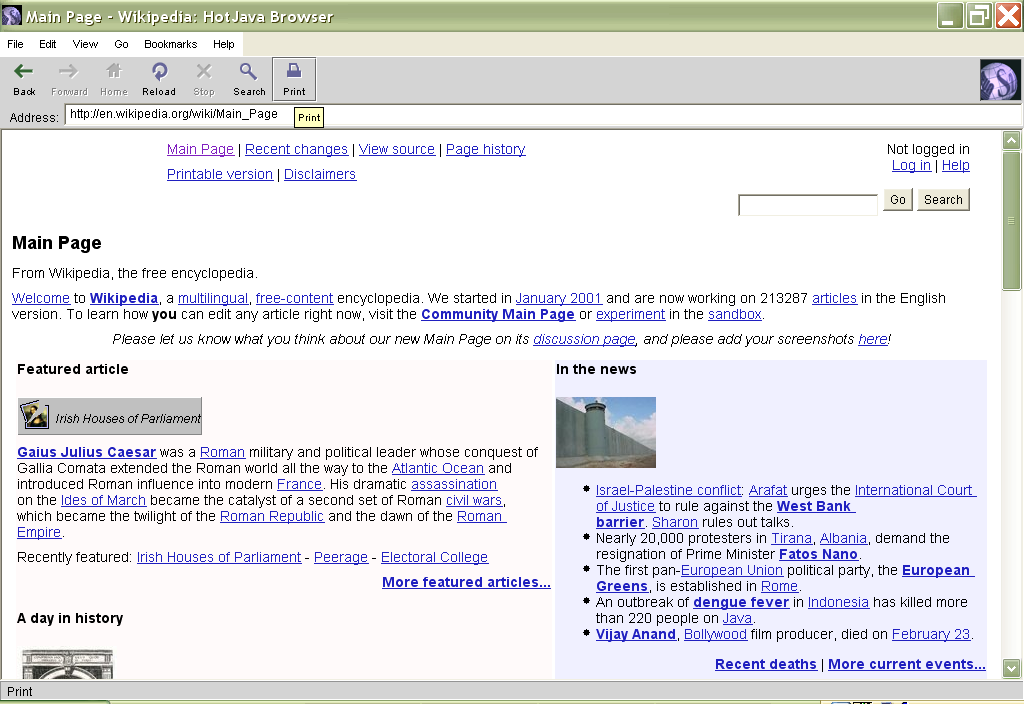 netfront browser for java jar