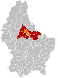 Commune in Diekirch, Luxembourg