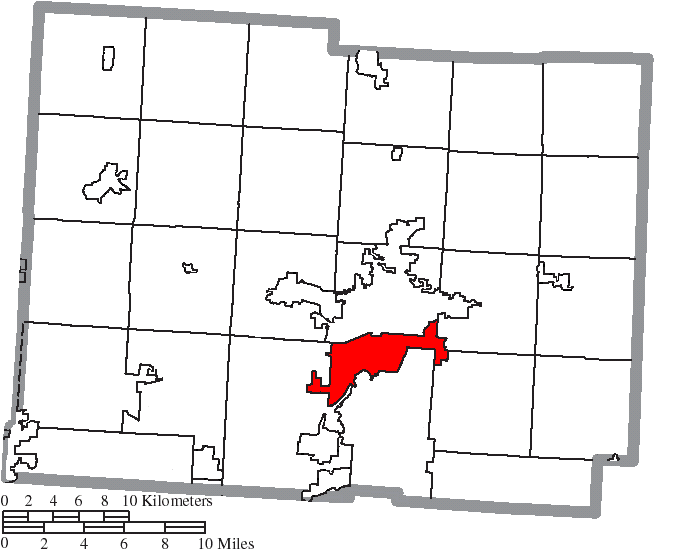 File Map Of Licking County Ohio Highlighting Heath City Png