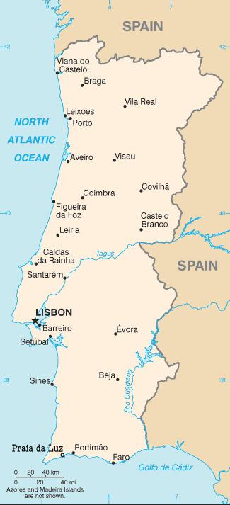 FileMap Of Portugal With Praia Da Luzjpg Wikimedia Commons - Praia map