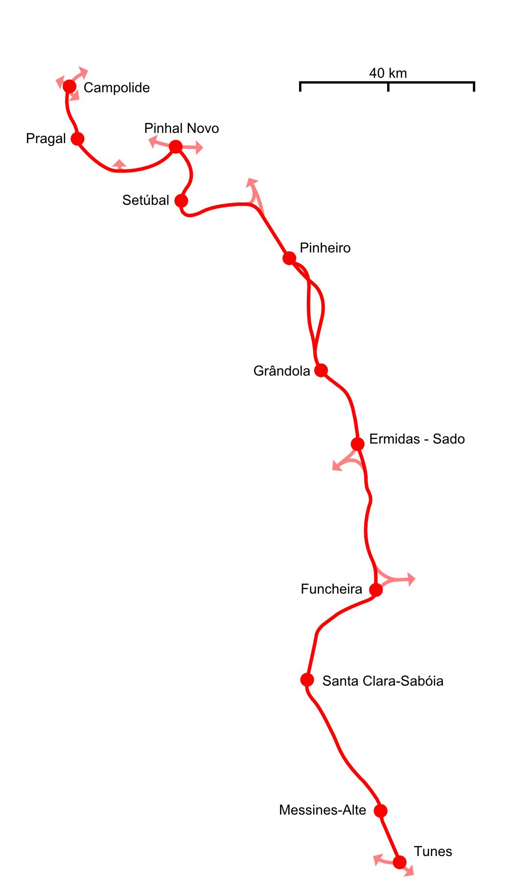 linha do oeste mapa Estação Ferroviária de Setúbal – Wikipédia, a enciclopédia livre linha do oeste mapa