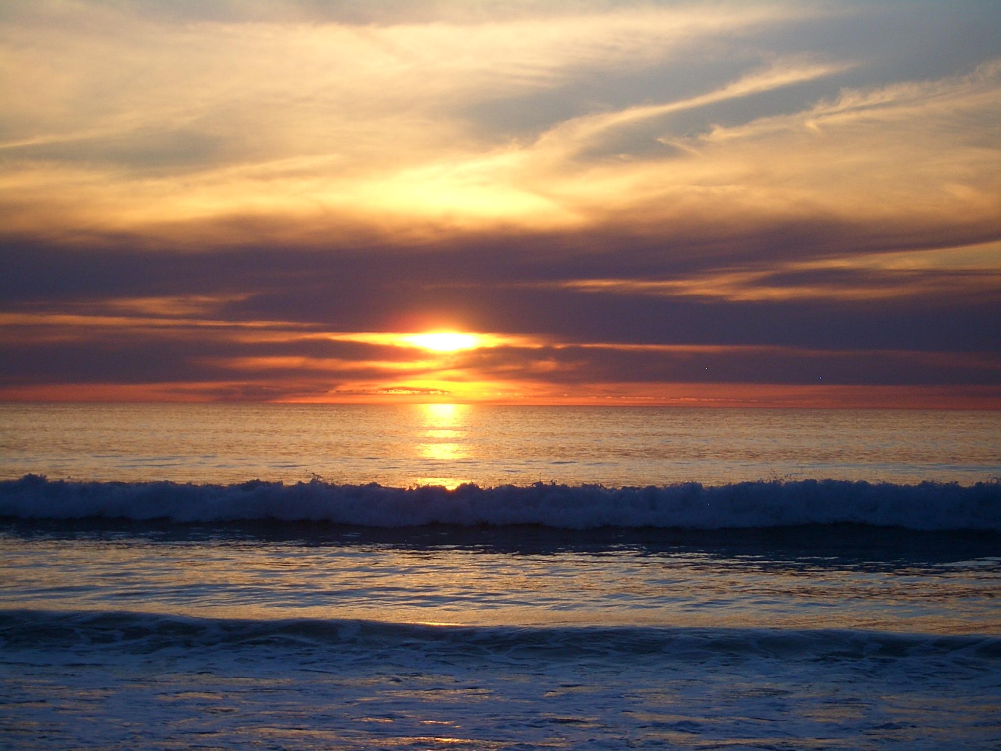 Sunset Time Myrtle Beach