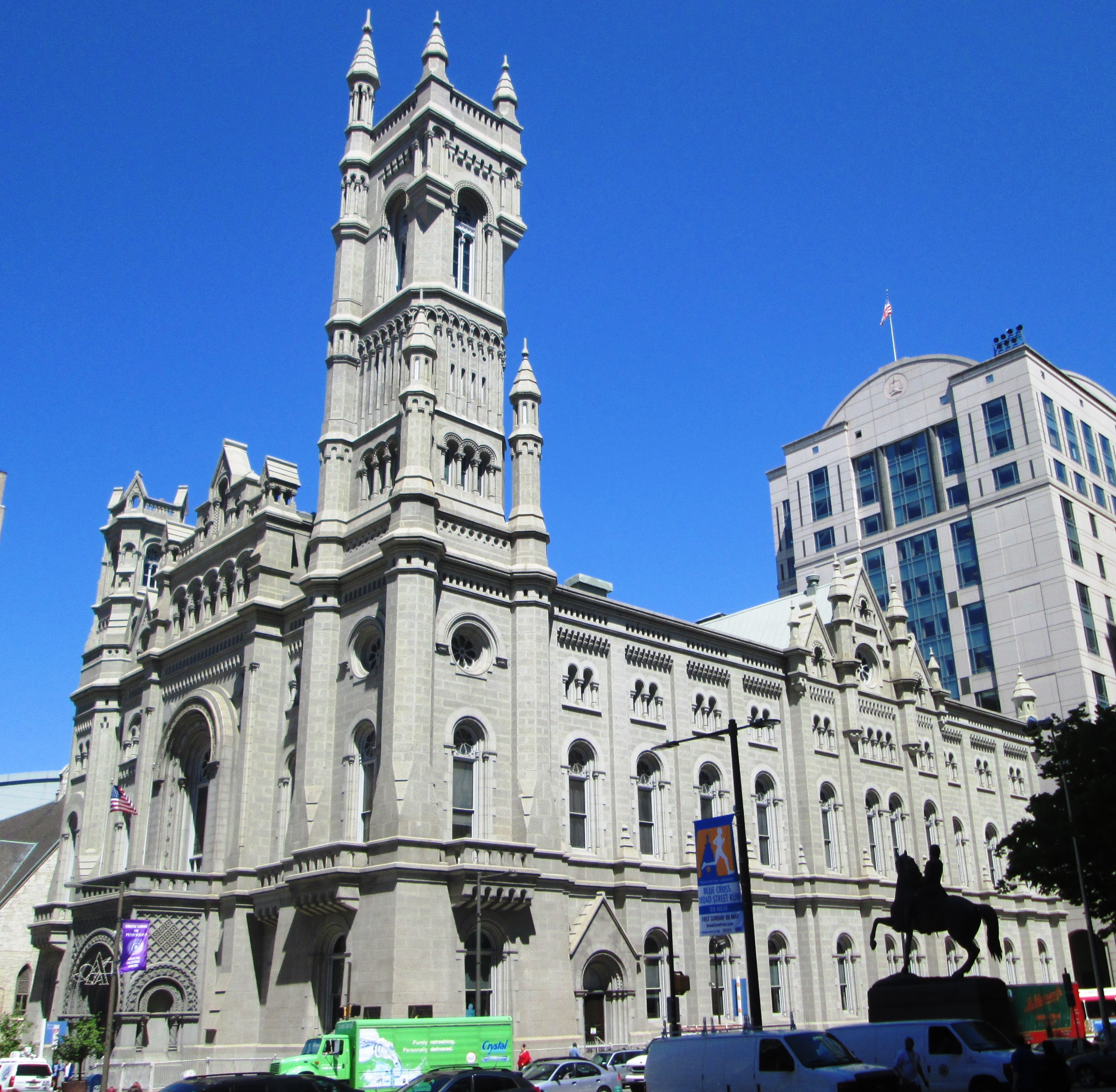File:Masonic Temple Philadelphia from southwest.jpg