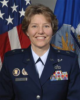 English: BG Michelle D. Johnson, USAF