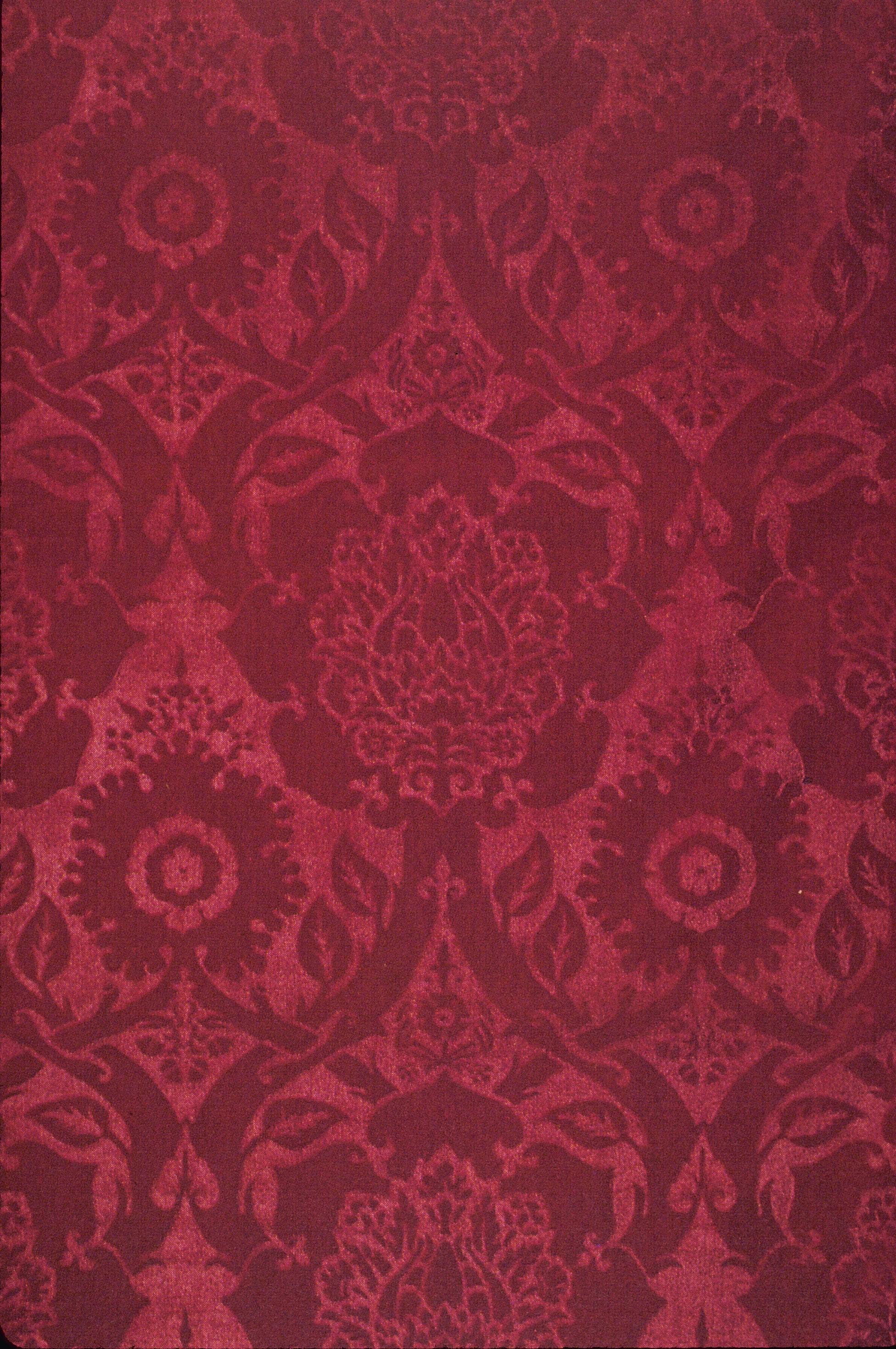 FileMorris And Co Acorn Embossed Velvet 1912