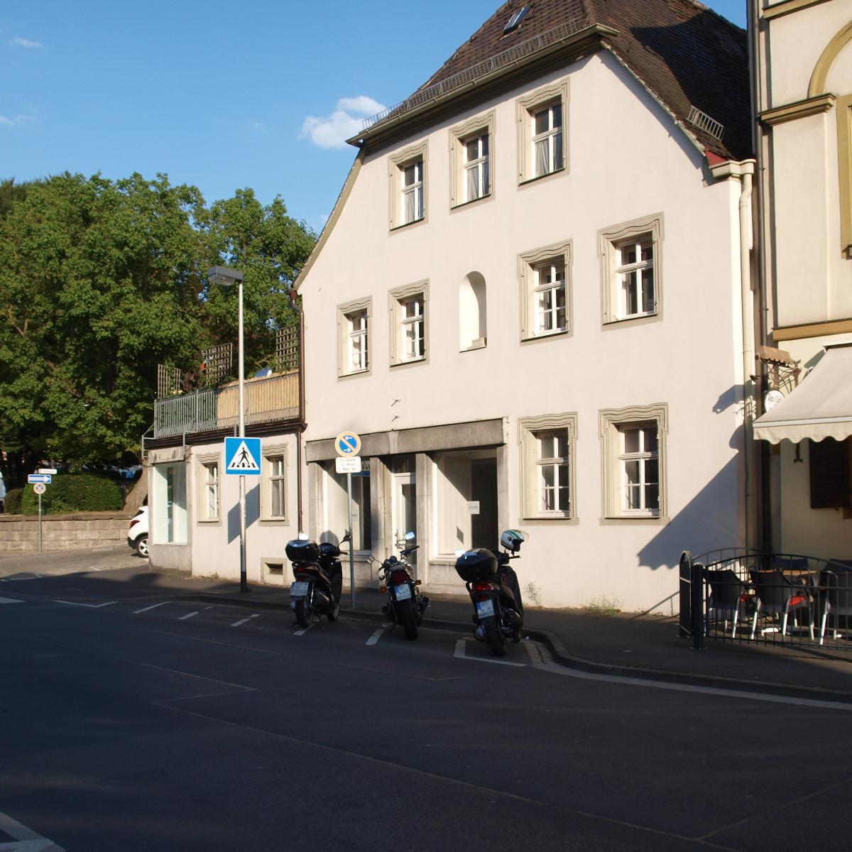 Motorradparkplatz Kitzingen Kaiserstraße 31