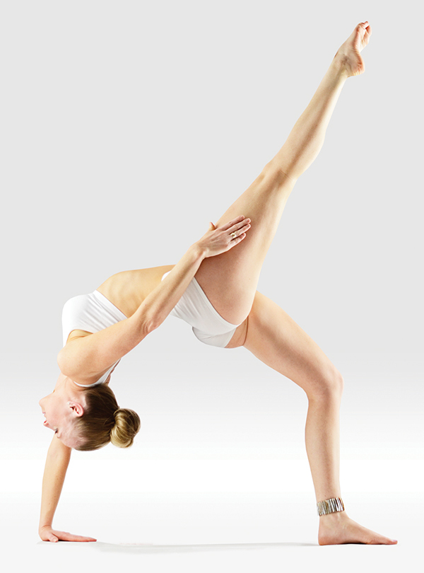 One Legged Upward Bow Pose - Eka Pada Urdhva Dhanurasana - Wikipedia