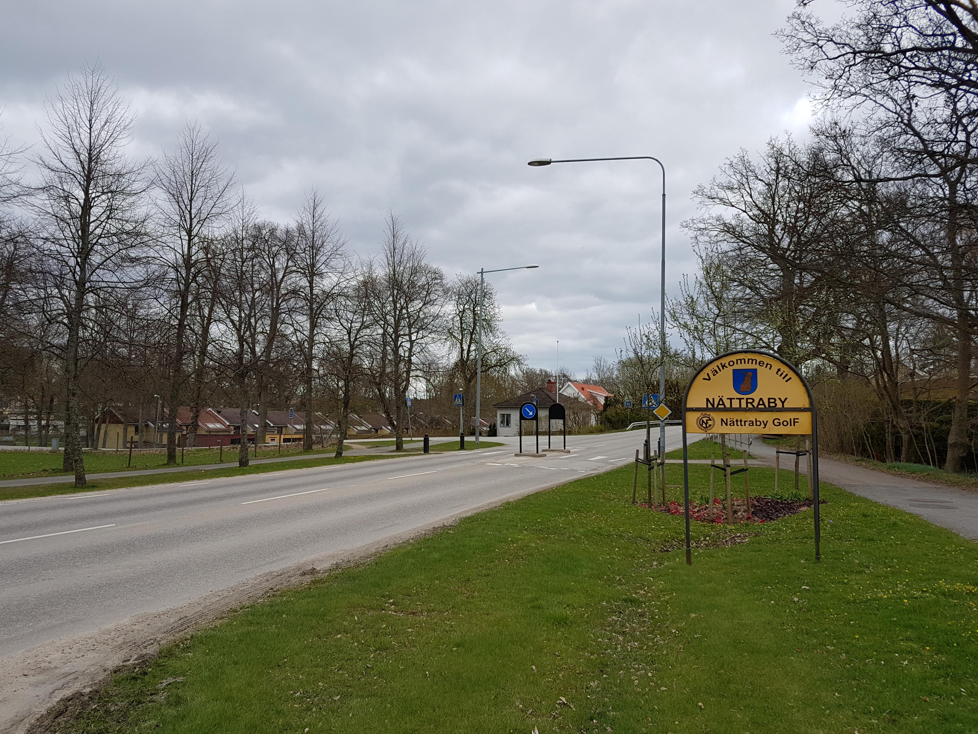 2019 - E22 Ronneby-Karlskrona delen trafikplats Ronneby ö-Nättraby