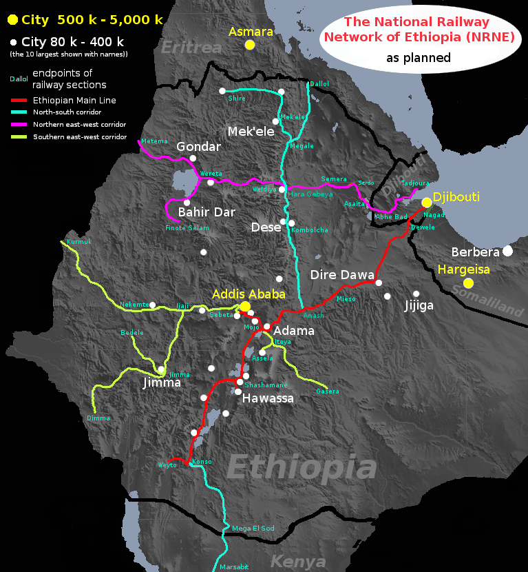 Rail transport in Ethiopia - Wikiwand