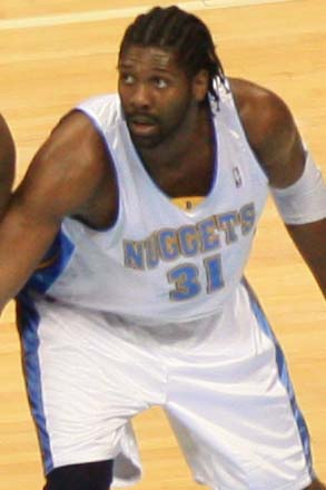 Nenê of the Denver Nuggets