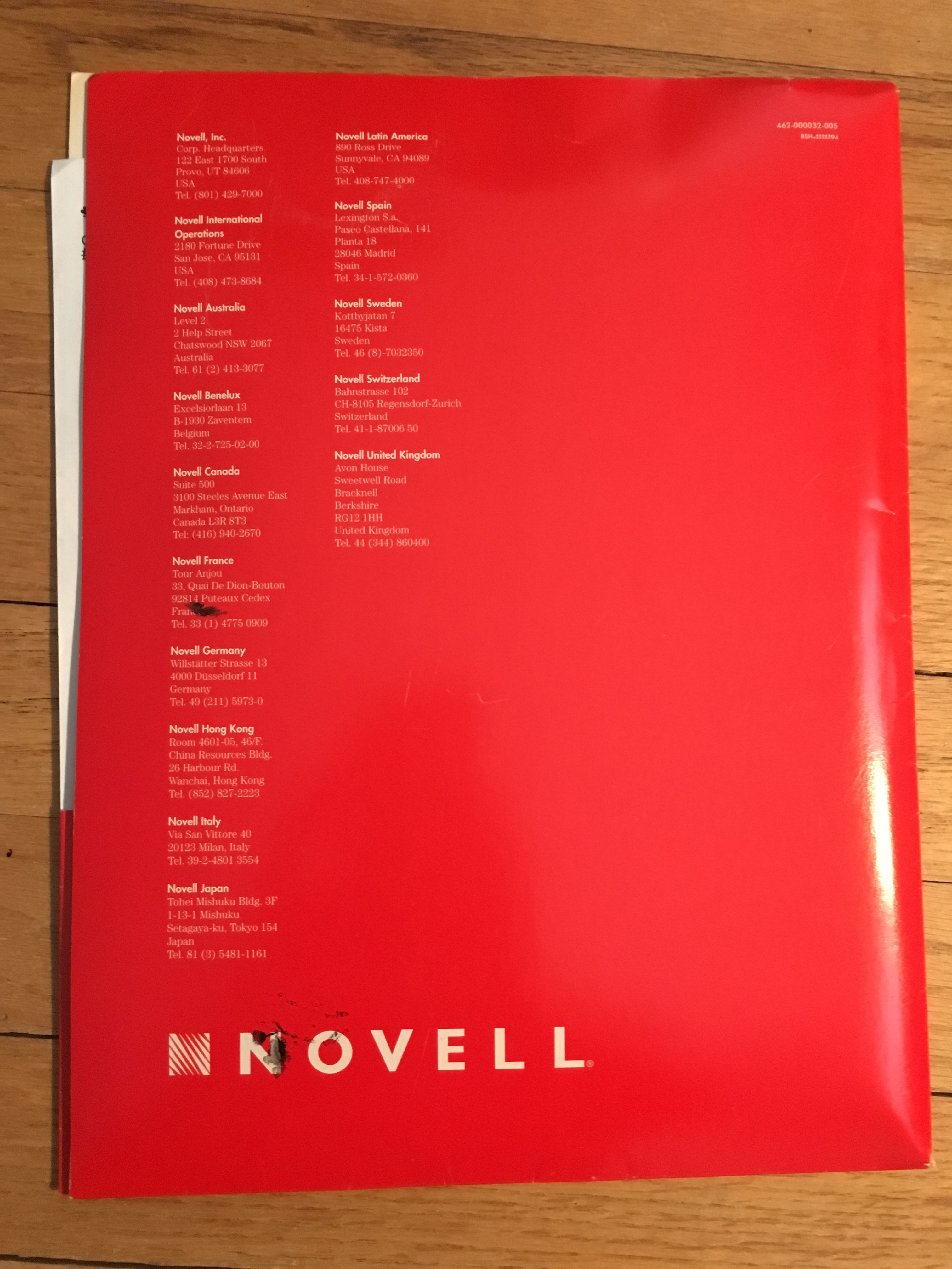 Novell Netware 4.1 For 10 Users