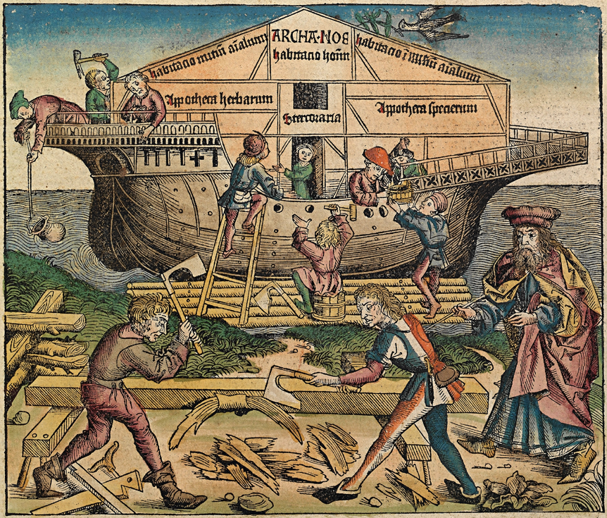 Crónicas de Nuremberg. Ilustración. Imagen de Wikimedia Commons.