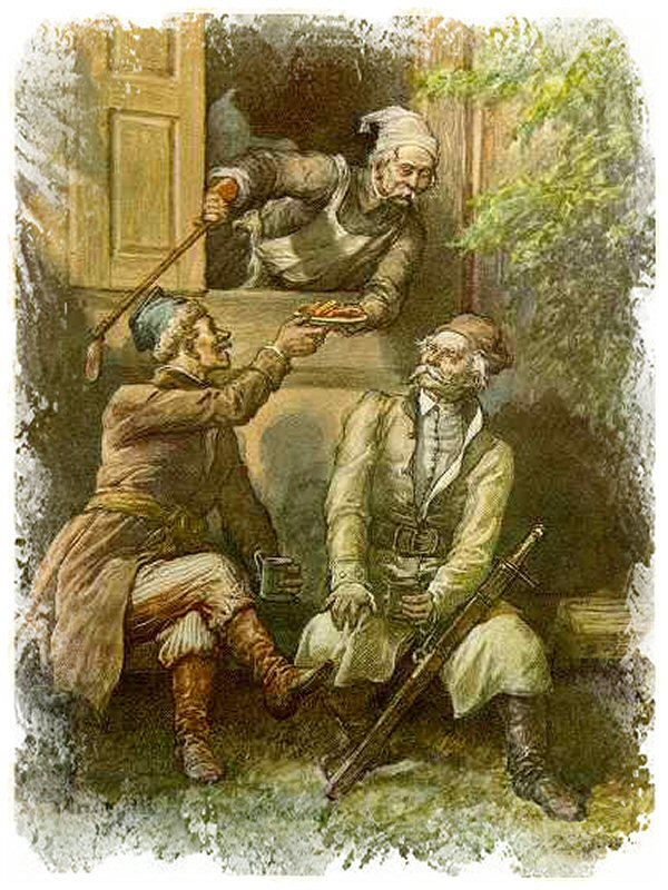 Ilustracja do Pana Tadeusza Adama Mickiewicza, Księga 11 / Autor Michał Elwiro Andriolli