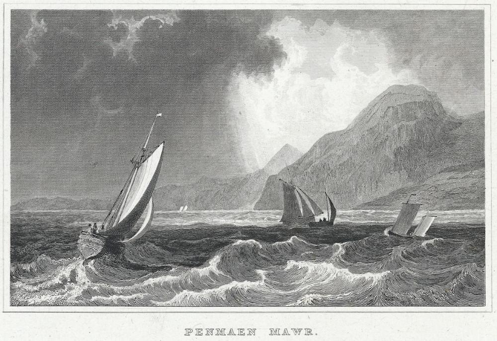 Penmaen Mawr, Caernarvonshire