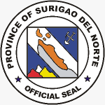 Offizielles Siegel der Provinz Surigao del norte