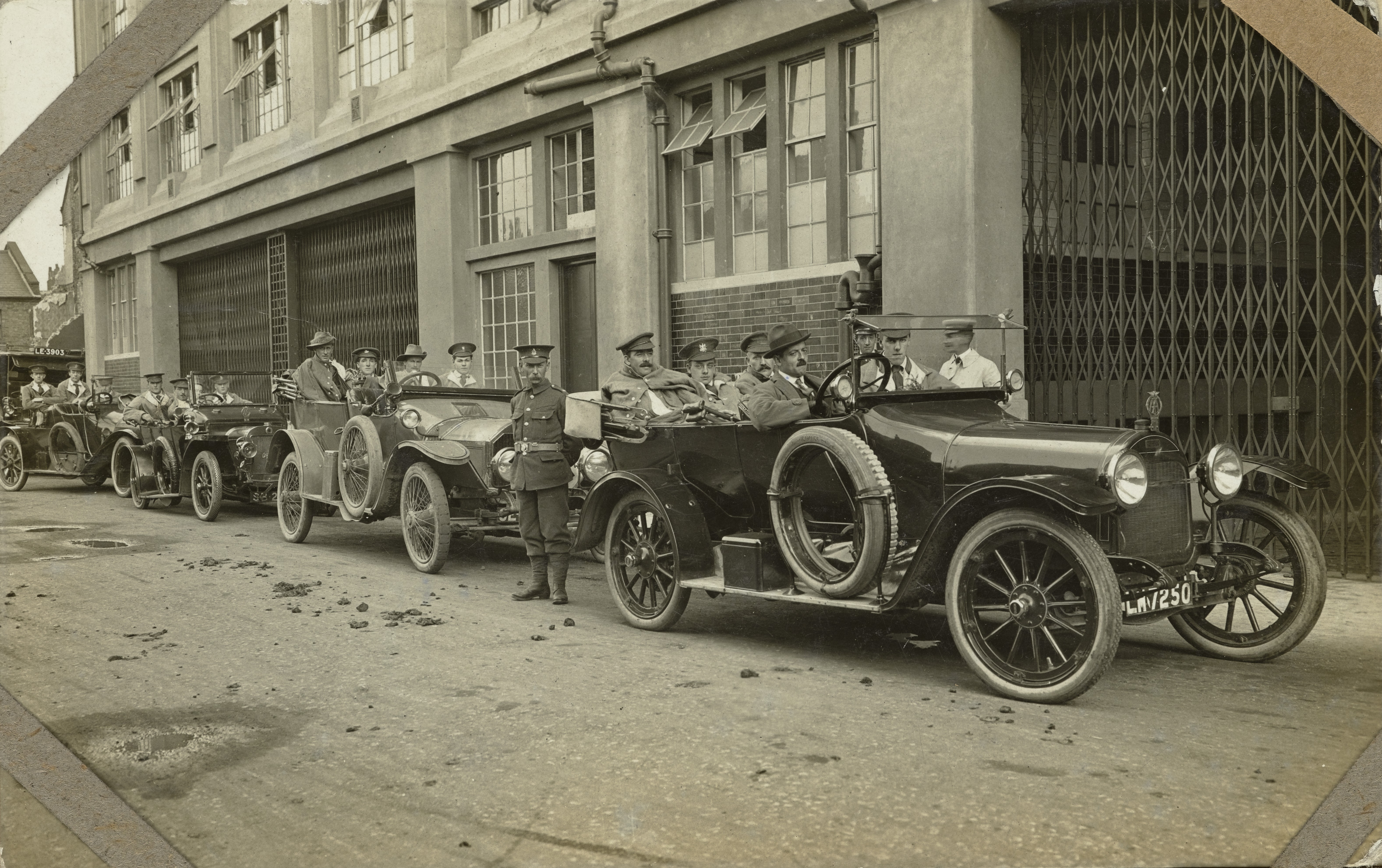 File Photograph Showing Patients In Early Model Cars Wellcome L0060827 Jpg