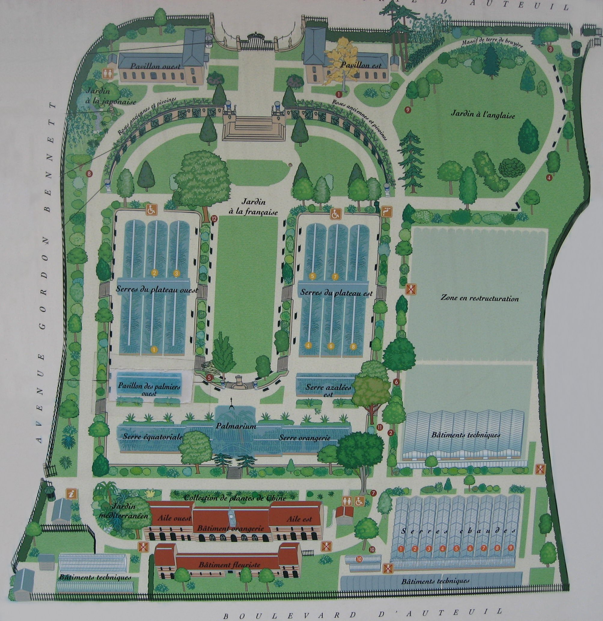 Jardin des serres d auteuil wikiwand - Serre de jardin 12m2 ...