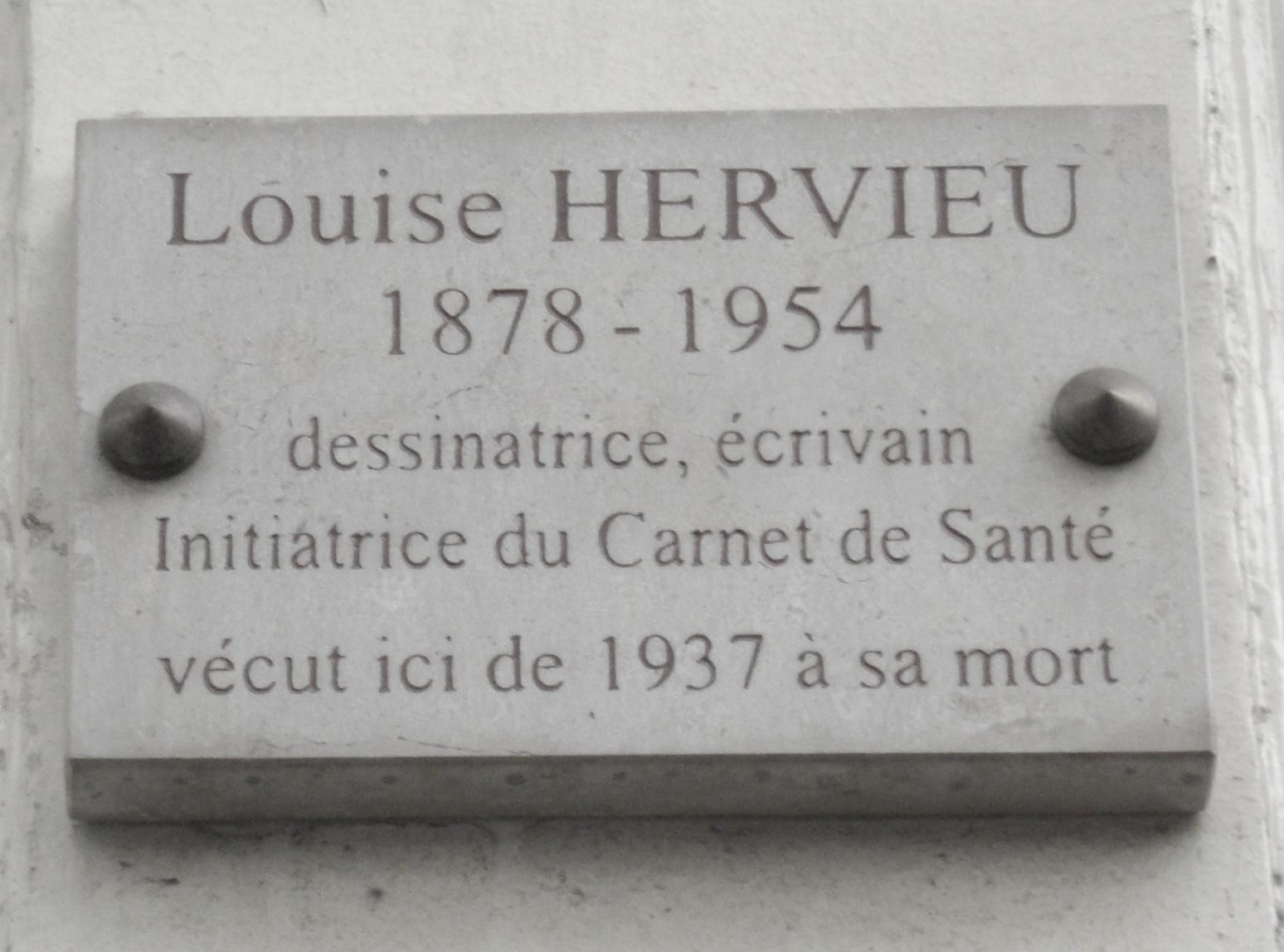 23 Rue Du Cherche Midi fichier:plaque louise hervieu, 55 rue du cherche-midi, paris
