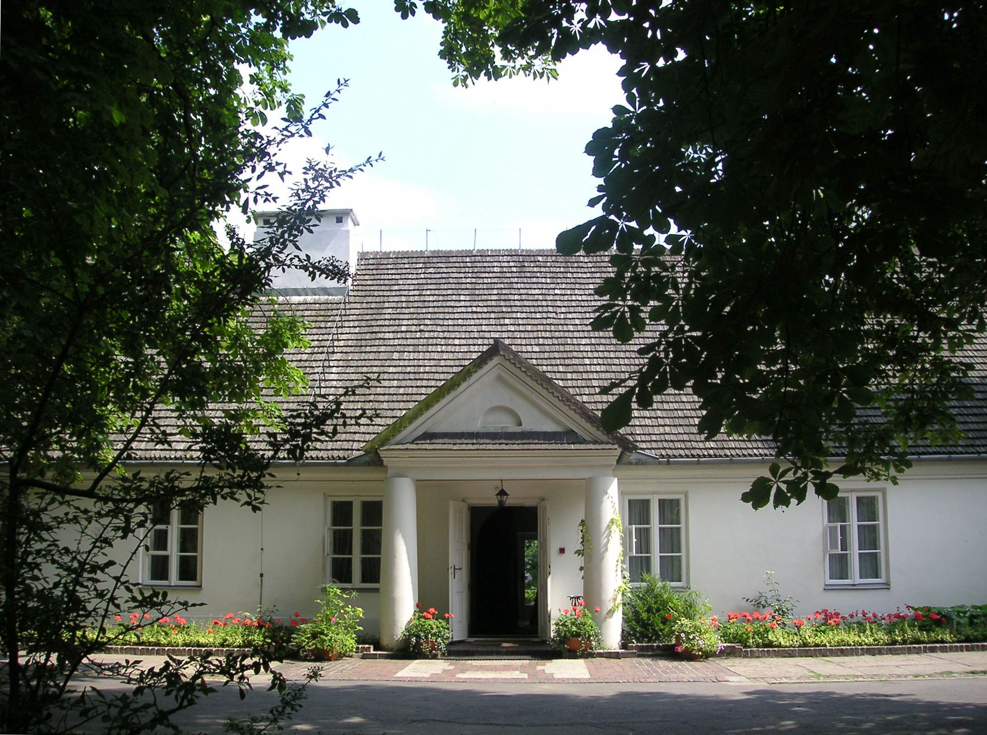 Casa natal de Chopin en Żelazowa Wola.