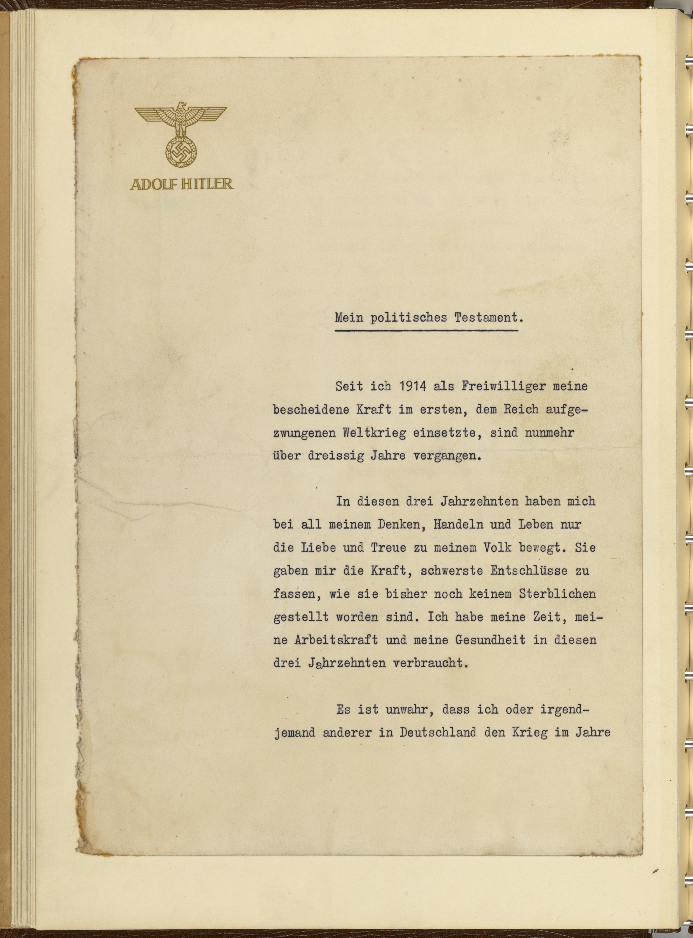 Hitler Tagebücher – Wikipedia