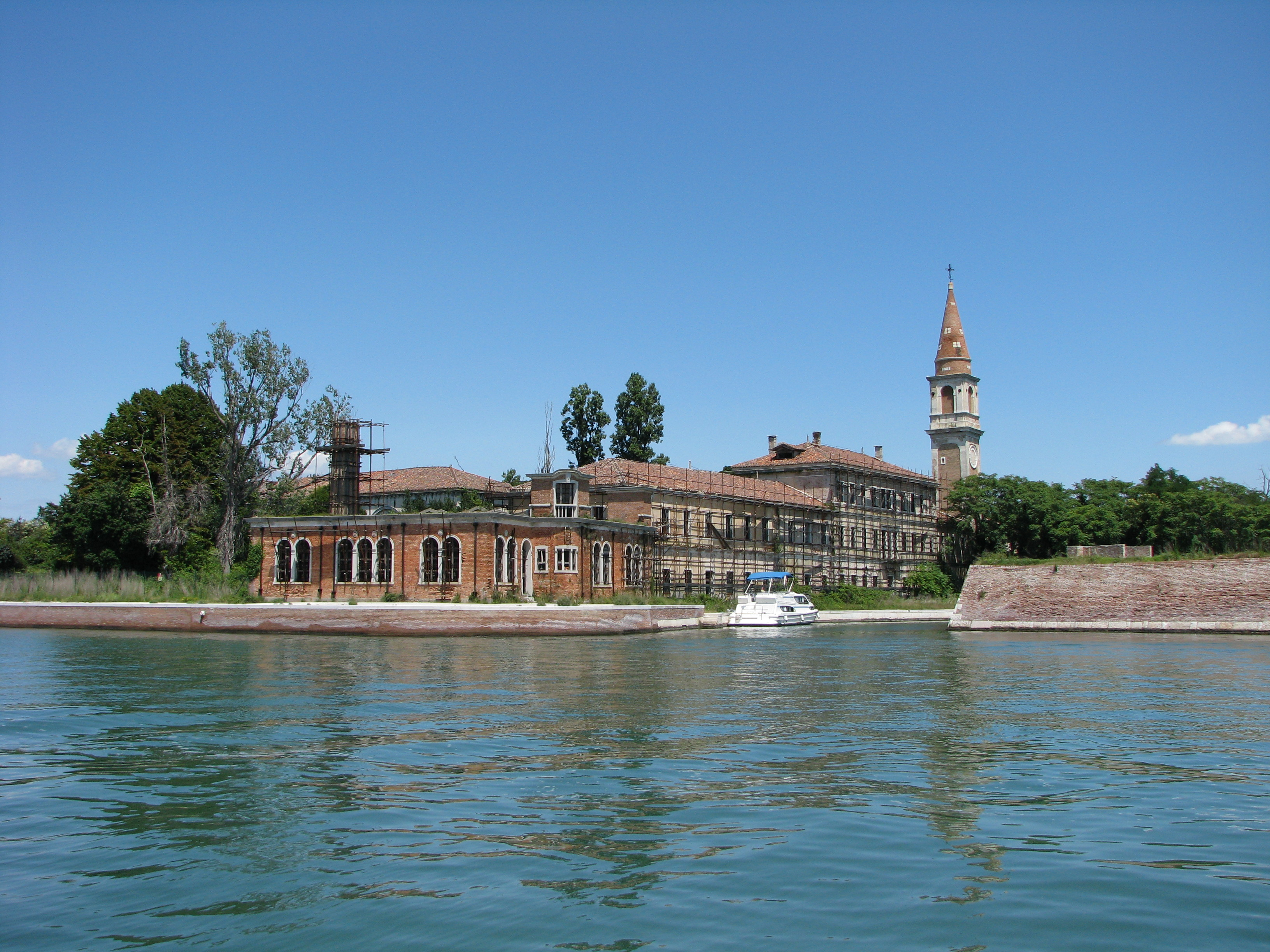 Poveglia Hospital is dubbed one of the most haunted places