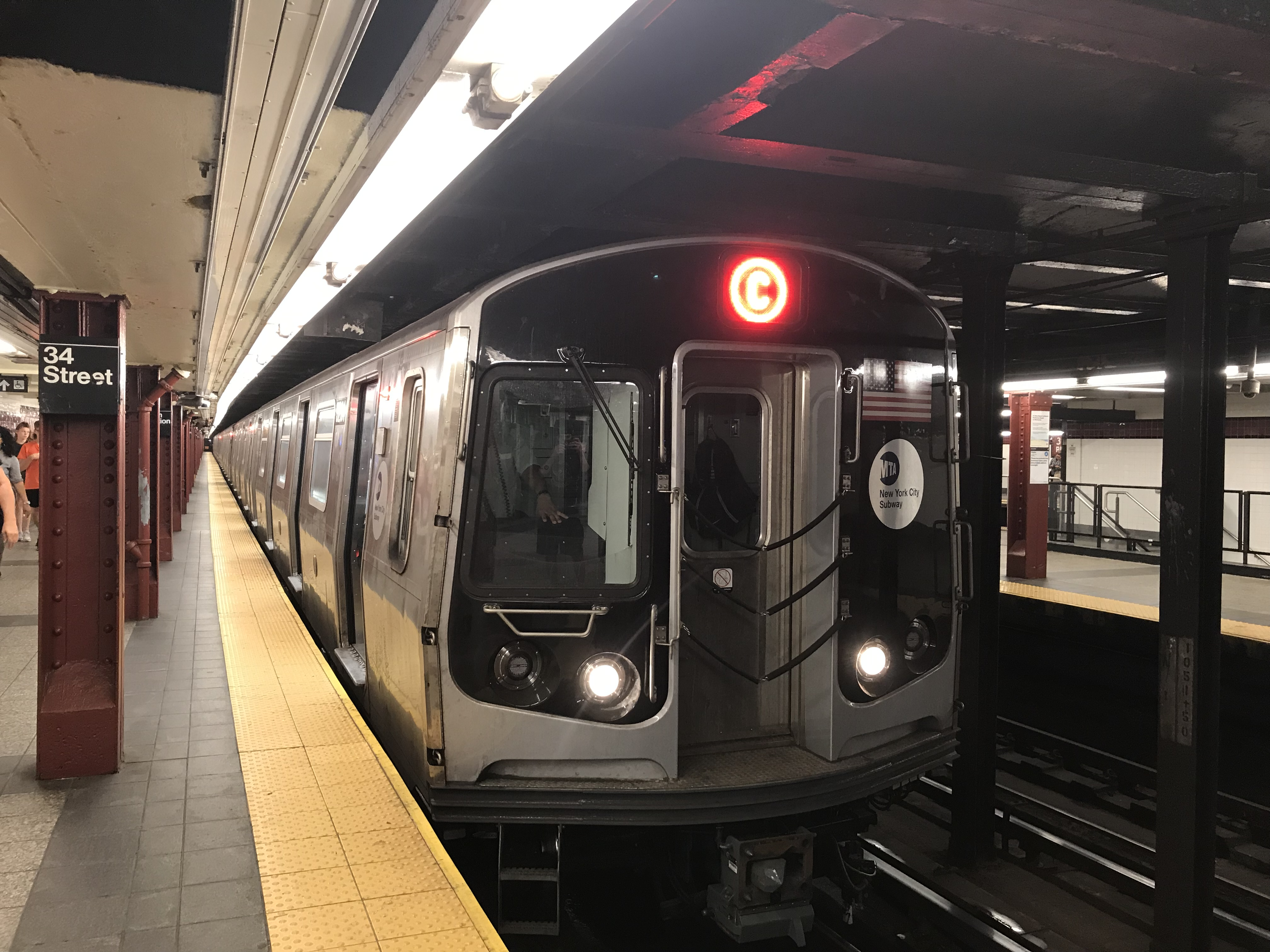 Nyc Subway Map Bam Park.C New York City Subway Service Wikipedia