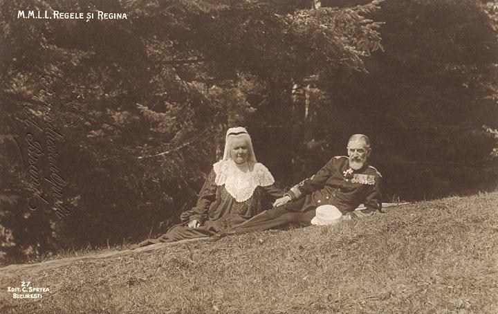 Regele Carol si Regina Elisabeta